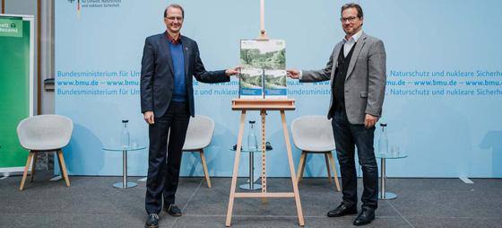 Florian Pronold und Dirk Messner