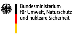 Logo: Bundesministerium für Umwelt, Naturschutz und nukleare Sicherheit